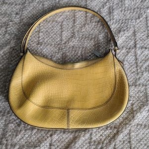 Gianni Bini yellow shoulder bag